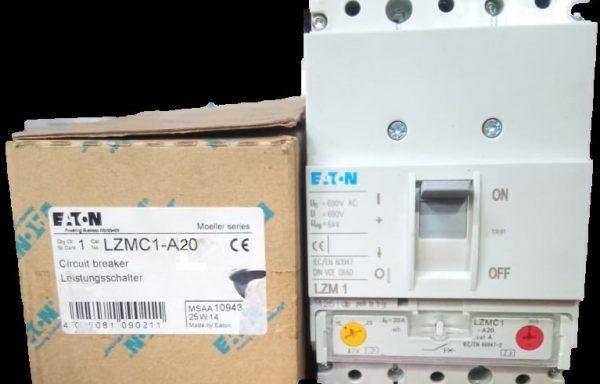 Interruptor tripolar regulable de 15 a 20 AMP LZMC1-A20-I